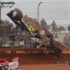 Brian Shirley crash at Golden Isles Speedway
