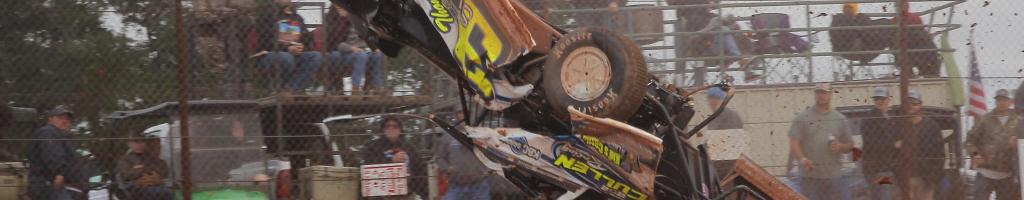 Brian Shirley talks the crash at Golden Isles Speedway