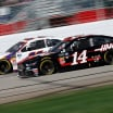 Clint Bowyer and Denny Hamlin at Atlanta Motor Speedway - NASCAR