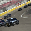Clint Bowyer in the NASCAR test at Las Vegas Motor Speedway