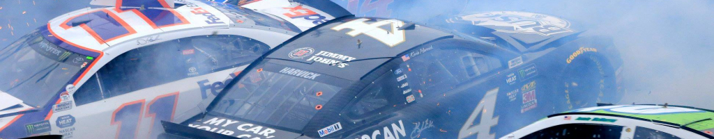 Kurt Busch says Jimmie Johnson was in a 'no zone' on the left rear at Daytona