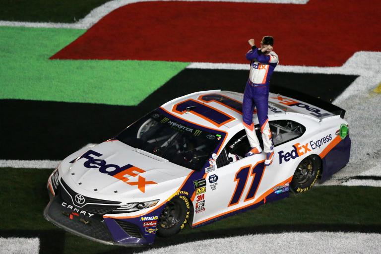 Denny Hamlin wins - 2019 Daytona 500