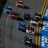 Duel 1 finish at Daytona International Speedway