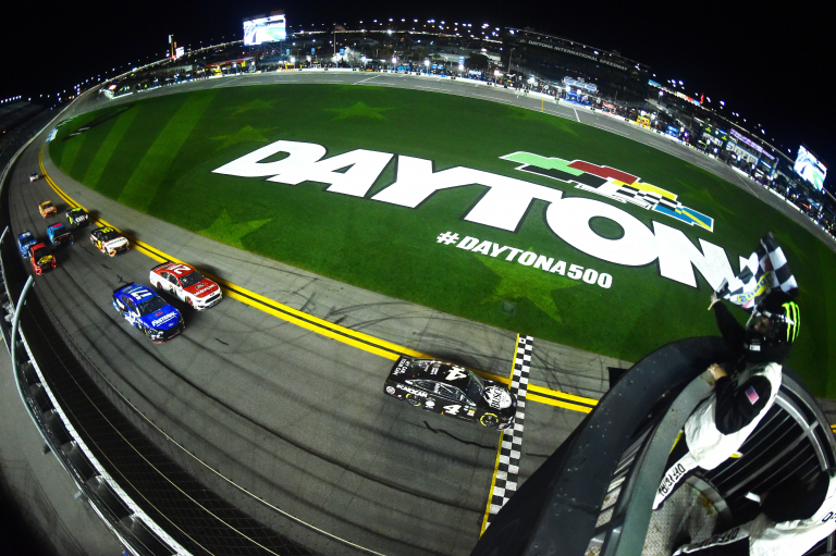 Duels at Daytona - NASCAR finish