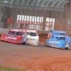 Earl Pearson Jr, Jonathan Davenport and Josh Richards at Golden Isles Speedway - LOLMDS Speedweeks 6207