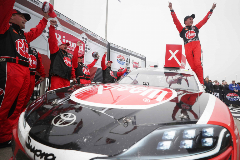 First NASCAR Xfinity Series win for the Toyota Supra
