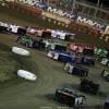 Four wide salute at East Bay Raceway Park 9719