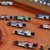 Hudson O'Neal, Earl Pearson Jr, Tyler Erb, Josh Richards, Brandon Sheppard, Devin Moran, Jonathan Davenport and Brandon Overton at Golden Isles Speedway 6079