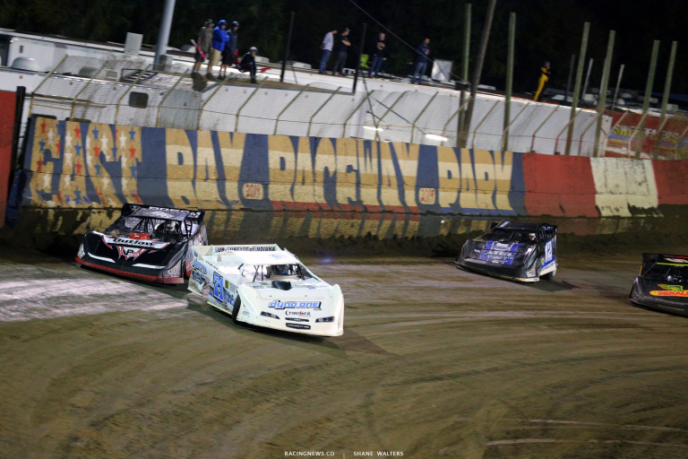 Hudson O'Neal and Tanner English at East Bay Raceway Park 7070