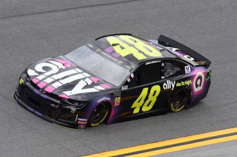 Jimmie Johnson at Daytona International Speedway