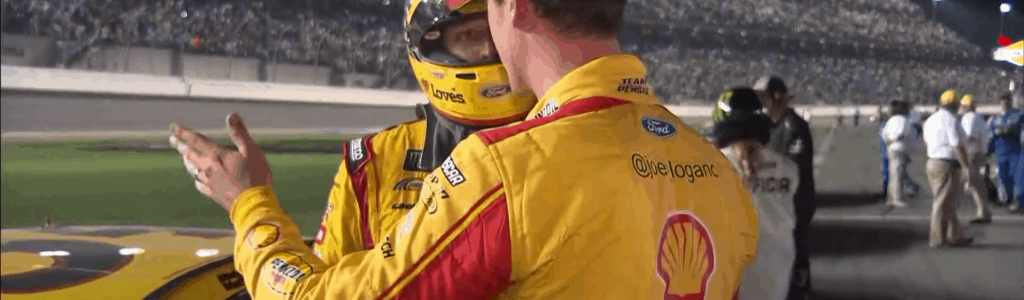 Joey Logano was frustrated with Michael McDowell after the Daytona 500