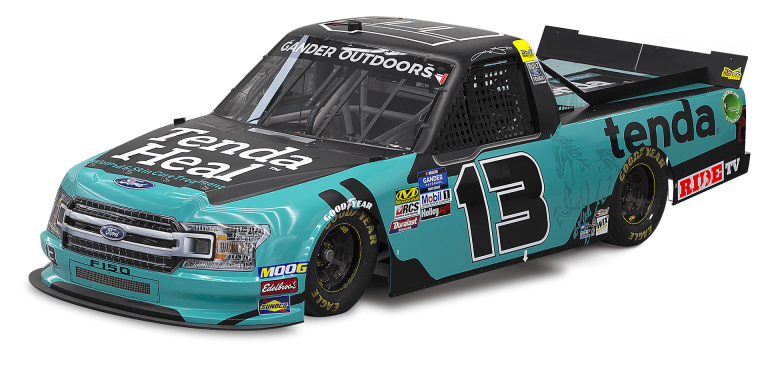 Johnny Sauter - #13 for Thorsport Racing