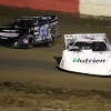 Jonathan Davenport and Scott Bloomquist at East Bay Raceway Park 9530