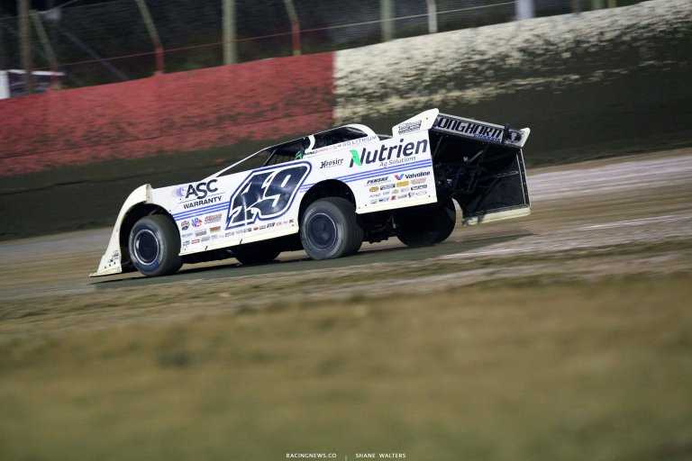 Jonathan Davenport at East Bay Raceway Park 8773