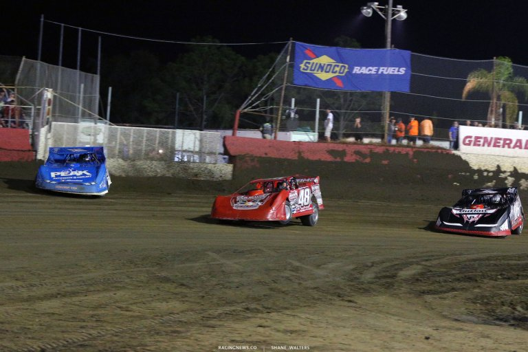 Josh Richards, Colton Flinner and Tanner English at East Bay Raceway Park 9687