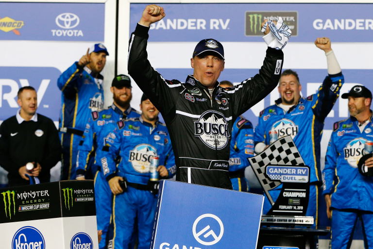 Kevin Harvick wins race one in the Duels at Daytona - NASCAR Cup Series