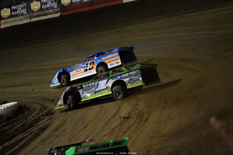 Kyle Bronson and Tyler Erb at East Bay Raceway Park 7051