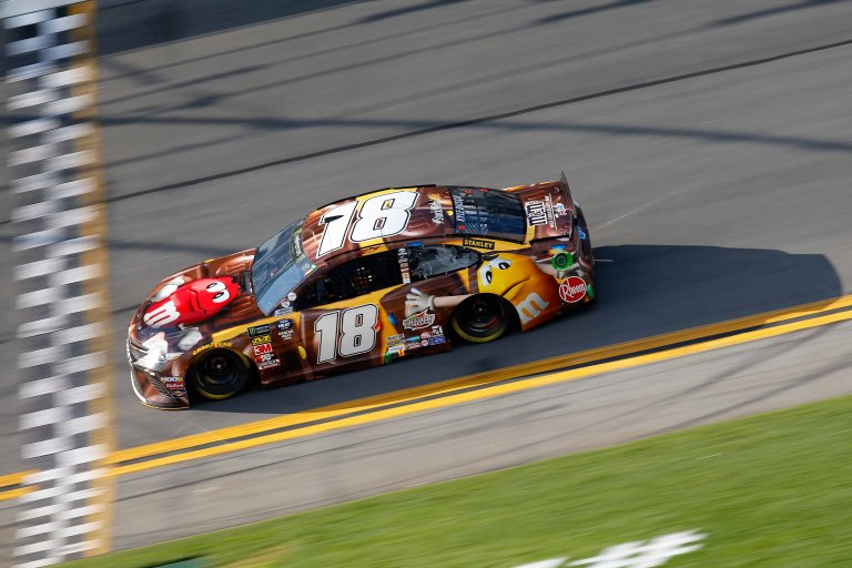 Kyle Busch at Daytona International Speedway