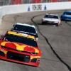 Kyle Larson - McDonalds NASCAR race car at Atlanta Motor Speedway