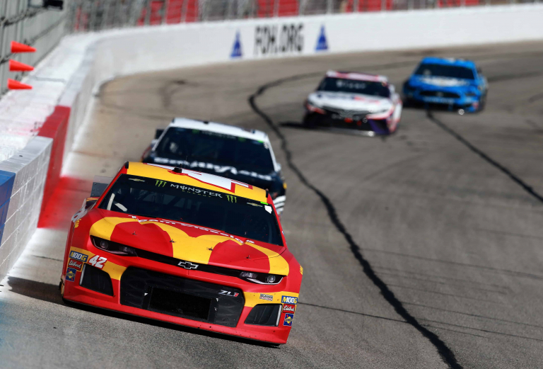 Kyle Larson - McDonalds NASCAR race car at Atlanta Motor Speedway