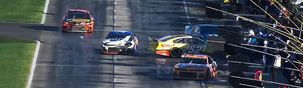 NASCAR crew member suffers injuries following pit road accident at Atlanta Motor Speedway