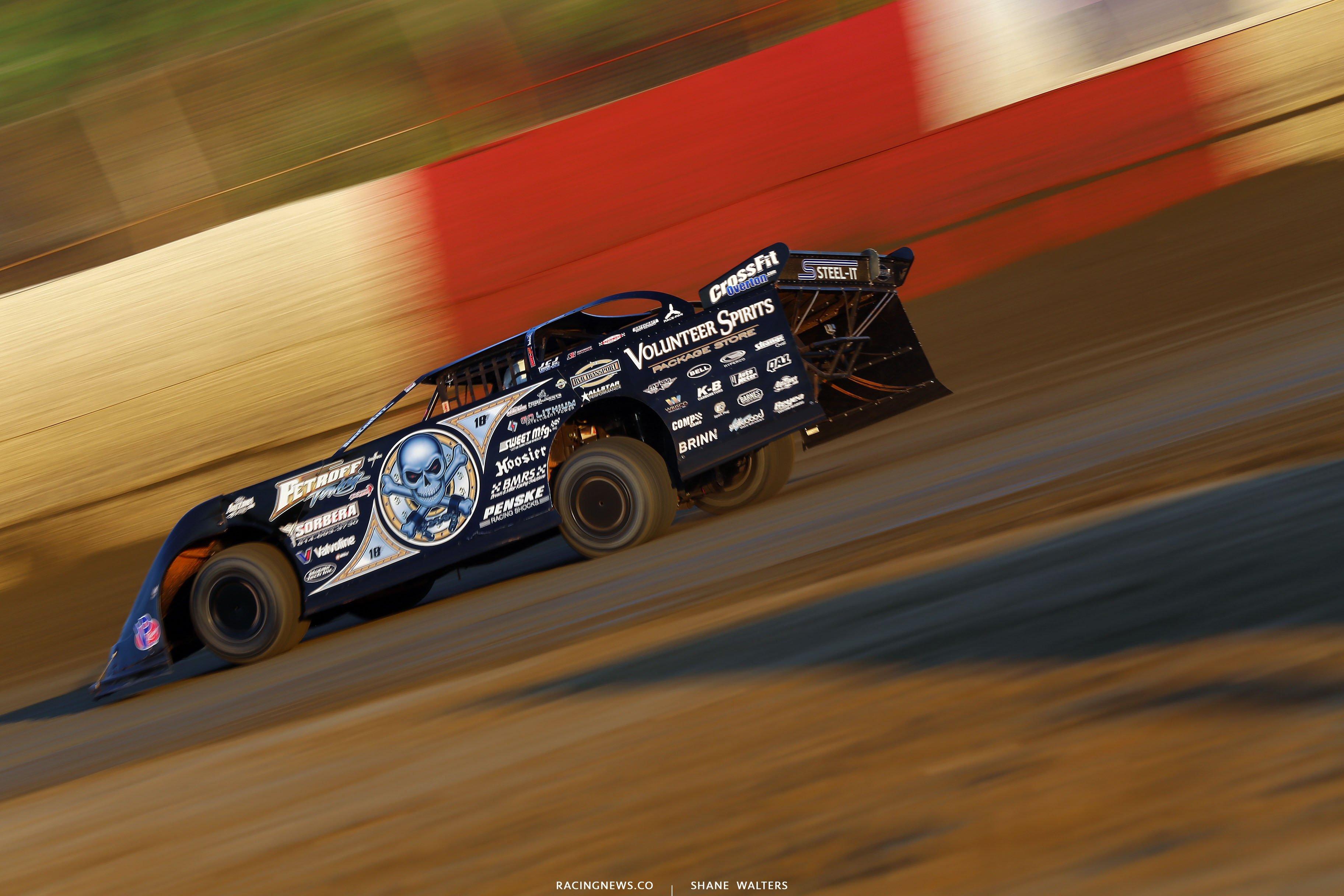 Scott Bloomquist at East Bay Raceway Park 9278