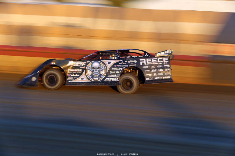 Scott Bloomquist at East Bay Raceway Park - Lucas Oil Late Model Dirt Series 7417