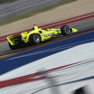 Simon Pagenaud sails into Turn 4 during the Open Test at Circuit of The Americas