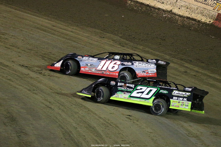Tanner English and Jimmy Owens at East Bay Raceway Park 9981