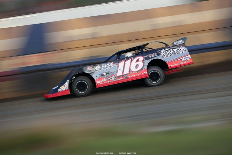 Tanner English at East Bay Raceway Park - Lucas Oil Late Model Dirt Series 7530