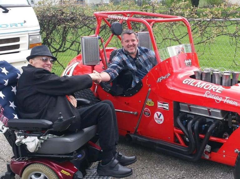 Tony Stewart purchases AJ Foyt's old USAC sprint car