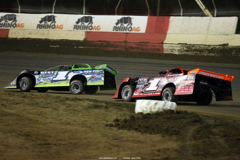 Tyler Erb and Earl Pearson Jr at East Bay Raceway Park 9121