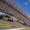 William Byron, Joey Logano and Kevin Harvick in the Daytona 500 - NASCAR