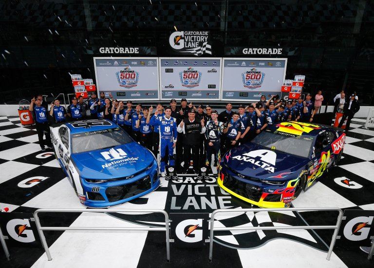 William Byron and Alex Bowman on the front row for the Daytona 500 - NASCAR Cup Series