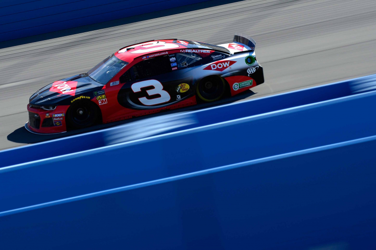 Austin Dillon at Auto Club Speedway - NASCAR Cup Series