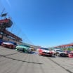 Auto Club Speedway - Five wide salute - NASCAR Cup Series