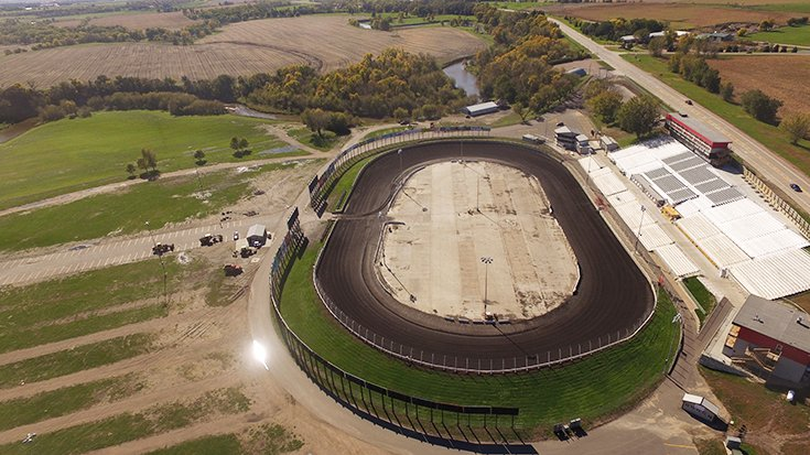 Badlands Motor Speedway formerly known as Huset's Speedway dirt track