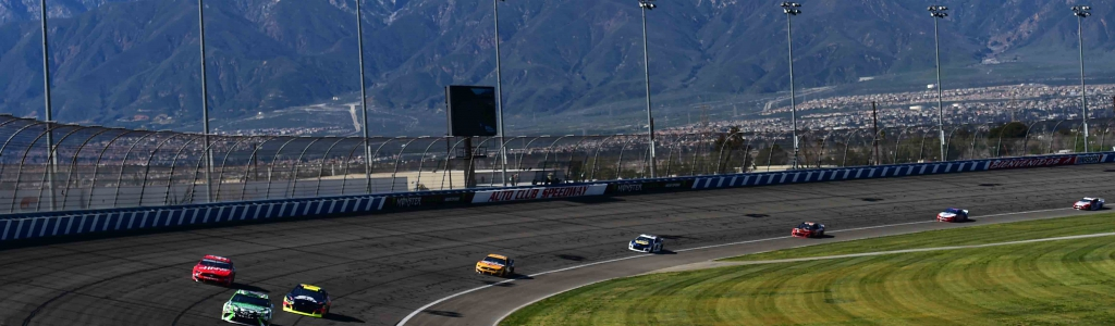 Auto Club Speedway: 10-lap averages (March 2019)