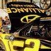 Brad Keselowski in the NASCAR garage area at ISM Raceway