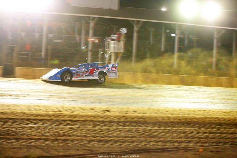 Brandon Sheppard wins at Brownstown Speedway 0947