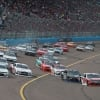 Christoipher Bell, Kyle Busch, Cole Custer and Tyler Reddick in the NASCAR Xfinity Series at ISM Raceway