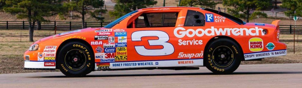 Dale Earnhardt's 1997 Wheaties car: Richard Childress Racing shows it off from the museum