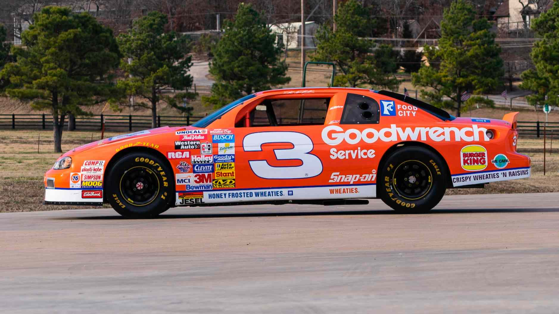 Nascar Racing Games >> Dale Earnhardt's 1997 Wheaties car: Richard Childress Racing shows it off from the museum ...