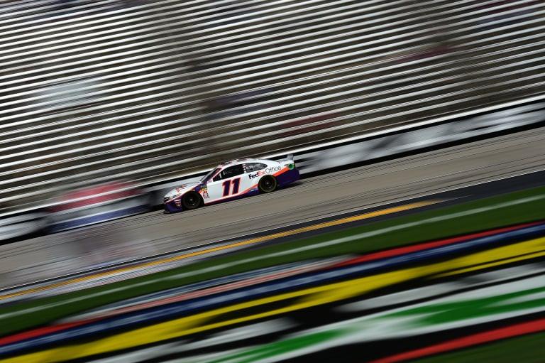 Denny Hamlin at Texas Motor Speedway