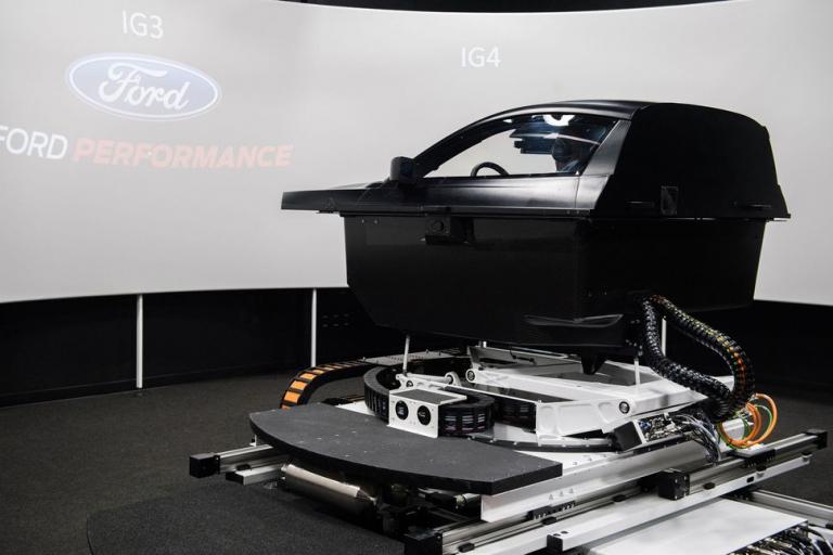 Ford Performance NASCAR simulator