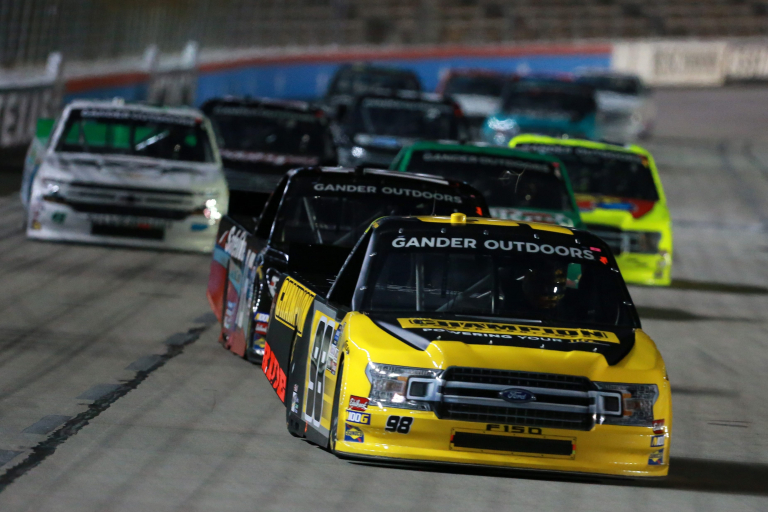 Grant Enfinger at Texas Motor Speedway - NASCAR Truck Series