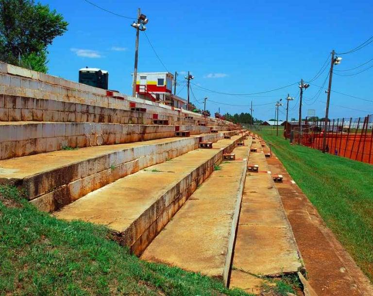 Hartwell Speedway grandstands