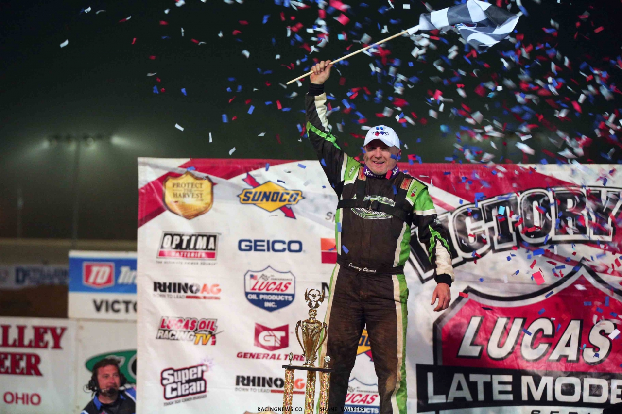 Jimmy Owens wins at Atomic Speedway - Lucas Oil Late Model Dirt Series 2538