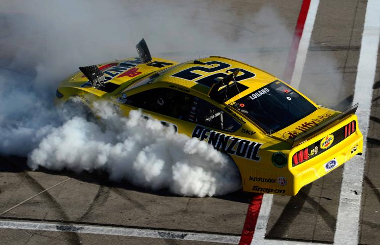 Joey Logano wins at Las Vegas Motor Speedway - NASCAR