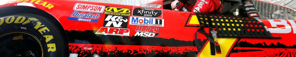 Justin Allgaier involved in crash 7 minutes into Homestead practice; Confronts team